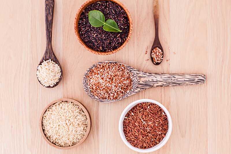 brunt ris näringsvärde