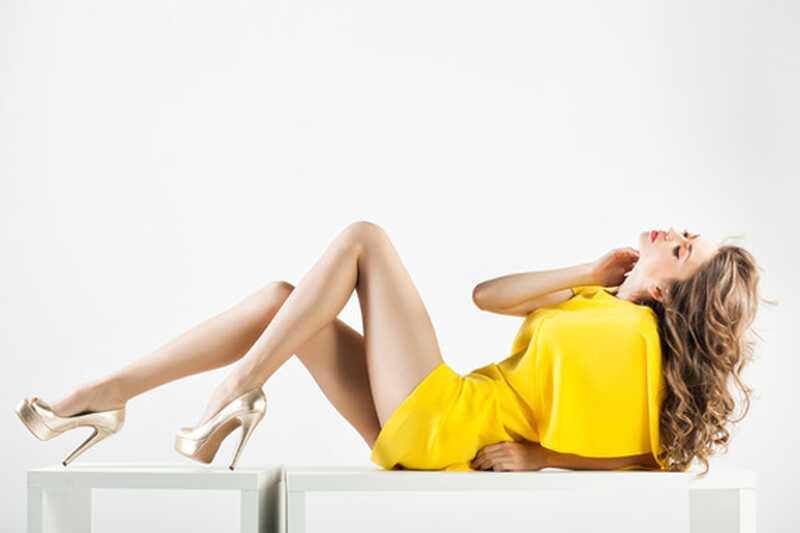Kako narediti vaše noge dlje? 10 mora vedeti modnih nasvetov