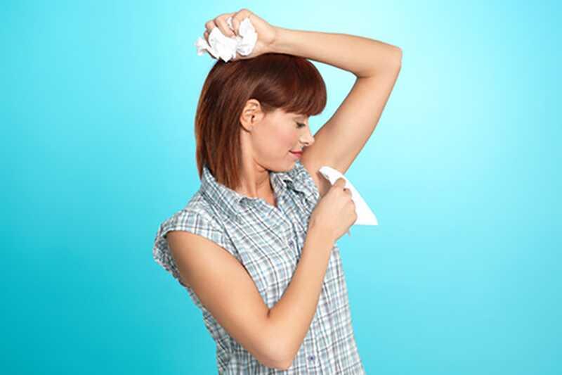 10 nasvetov o tem, kako prenehati pretirano znojenje