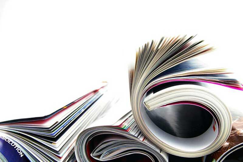 Kaj storiti s starimi revijami? 10 ustvarjalnih umetniških in obrtnih idej