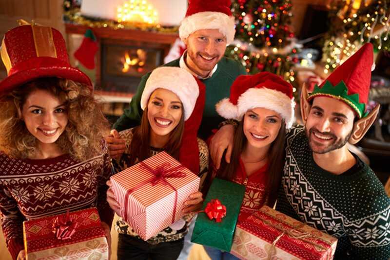 10 zabavnih božičnih zabavnih iger
