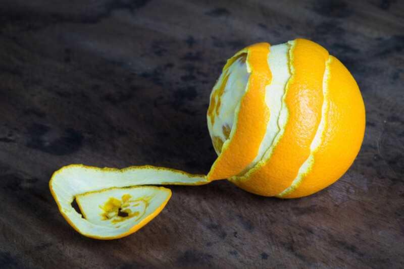 10 neverjetnih uporabe pomarančne lupine