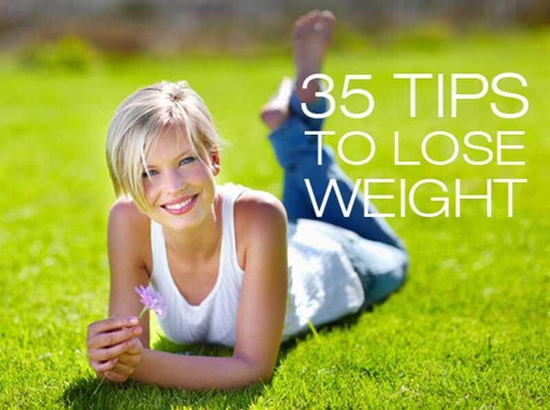 35 nasvetov za izgubo teže