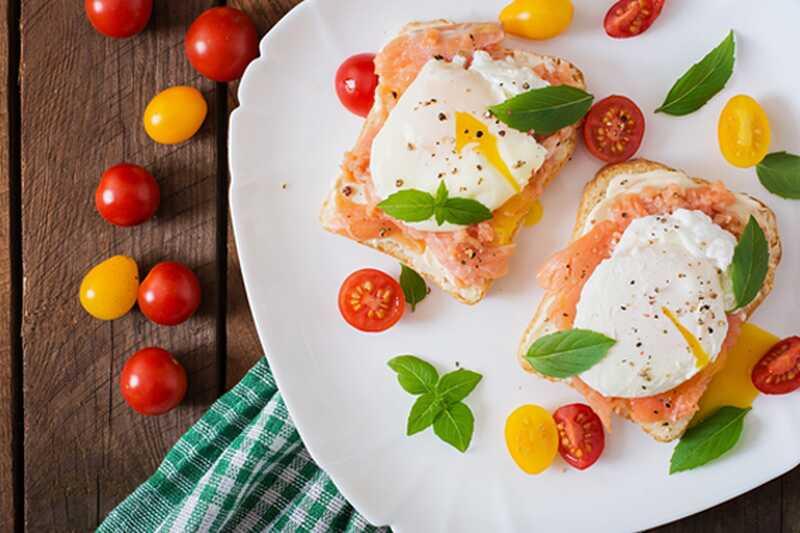 10 čudesnih sendvič recepti za jaja