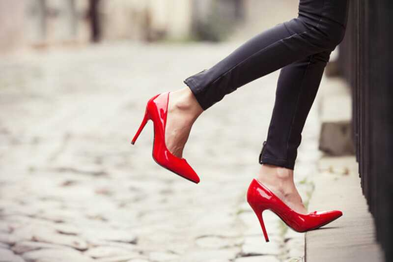 10 zanimivih dejstev o visokih petih čevljih