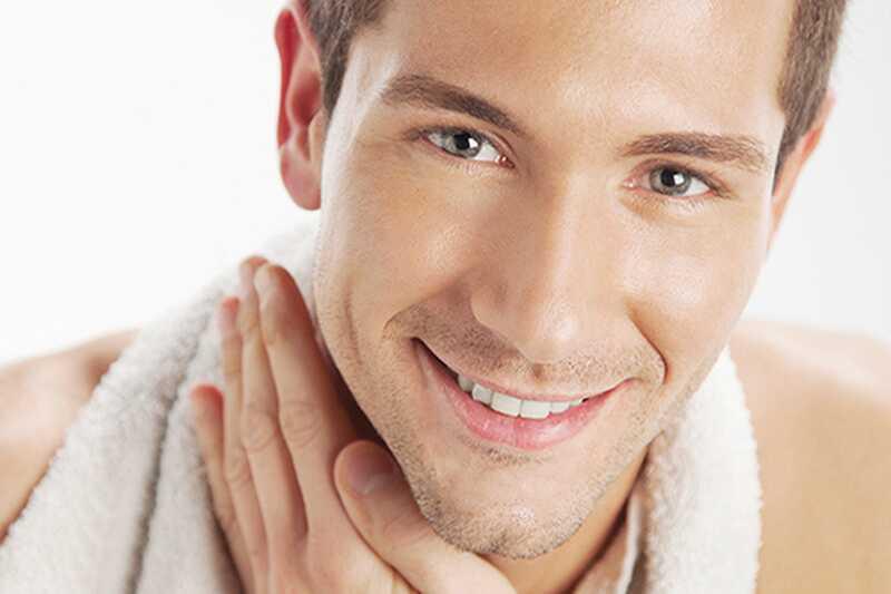10 nasvetov za nego kože za moške