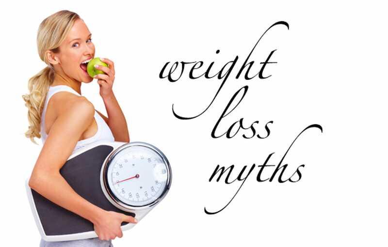 Top 8 mitov izgubo teže razkrila